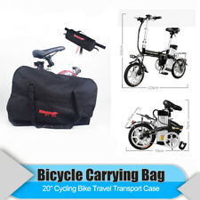 Bike Storage Bag Travel Carrying Bag Transport Case For 20'' Folding Bicycle UK