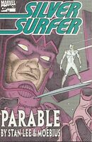 Marvel Comics Silver Surfer Parable Paperback Book TPB - 1st Printing 1998