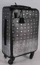 New MCM $1,750 Ombre Gradient Visetos Small Carry on Trolley Luggage Suitcase