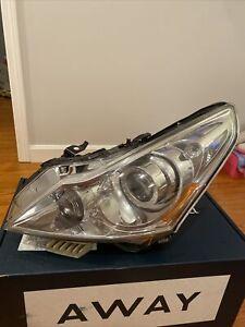 OEM Headlight For 2009-2013 Infiniti G37 G25, '14-15 Q40 Sedan Left/Driver Side