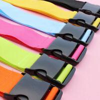 Colorful Adjustable Luggage Baggage Straps Tie Down Belt Travel Buckle Lock