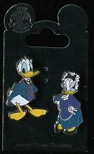 Donald & Daisy as Maid & Butler from Haunted Mansion 2 Pin Set Disney Pin 102436
