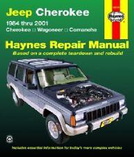 HAYNES AUTOMOTIVE REPAIR MANUAL JEEP 1984-2001 CHEROKEE XJ - NEW Paperback Book