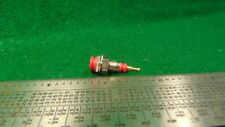 1 Tip Jack Test Point Red Gold Plated NOS High Quality