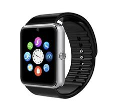 Waterproof Bluetooth Smart Watch w/ SIM For Apple iPhone Kids Android Silver LTE