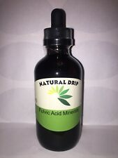 fulvic acid SALE!SALE!SALE! trace mineral concentrate 4 oz. dropper bottle