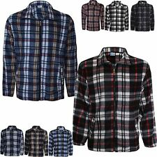Unbranded Men's Check Long Sleeve Collared Casual Shirts & Tops
