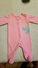 Carters Baby Girl Size 3 Month Sleeper
