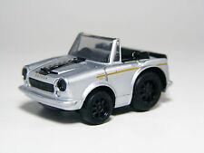 TAKARA TOMY Choro-Q Chibikko Datsun Nissan FAIRLADY SR311 Silver Pullback Car