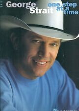 """GEORGE STRAIT """"ONE STEP AT A TIME"""" PIANO/VOCAL/GUITAR MUSIC BOOK ON SALE RARE!!"""