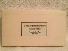NASCAR VIDEO ** Presentation Tape [Vision Entertainment] -- VHS -- Rare & OOP