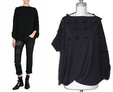 ** JUNYA WATANABE Comme des Garcons ** NWT Black Pyramid Stud Cocoon Top S