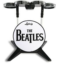 NEW Xbox 360 Beatles Rock Band Wireless Ludwig Drum Kit RockBand Drums RARE