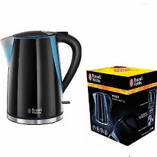 NEW Russell Hobbs 21400 Electric Jug Kettle Black 1.7L Rapid Fast Quick Boil 3KW