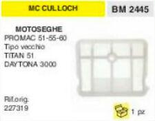 227319 FILTRO ARIA MOTOSEGA McCULLOCH PROMAC 51 55 60 TITAN 51 DAYTONA 3000