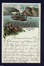 Kleinformat Transport- & Verkehrs-Ansichtskarten vor 1914
