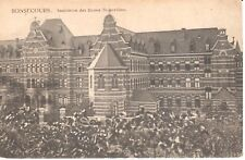 Carte postale - Péruwelz - CPA - Bonsecours - institution des dames Bernardines