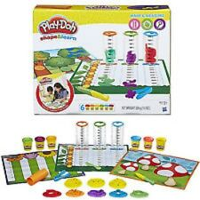 Play-Doh Shapes & Learn Set Make Measure Science Tools Molds Activities Factory