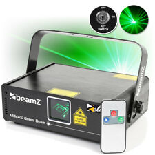 BeamZ Mimas Green DMX DJ Laser Disco Club Lighting w/ IR Remote Control 50mW