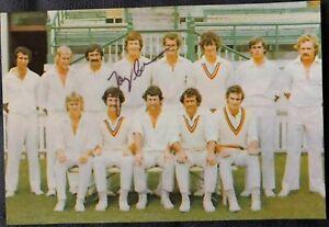 Australia Cricket Legend Gary Cosier Signed Photo