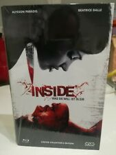 Inside - (A l'intérieur) Limited NSM Große Hartbox Blu-ray RARE 057/111 pièces!
