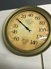 Union Station Chicago Round Thermometer Hanger Mount