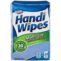 NEW Clorox Handi Wipes Multi Use Reusable Cloths 72 Cloths FREE SHIPPING