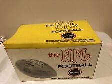 National Football League NFL Pete Rozelle Vintage Wilson Football 1970s  w/Box