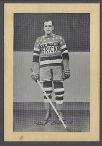 1934-44 Beehive Group 1 Photos New York Americans #224 Happy Emms