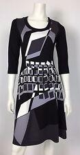 Abito vestito dress kleid 42 44 cerimonia nero cena nuovo elegante платье T1074