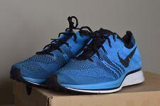 Nike Flyknit Trainer Promo Sample Size 9 2012 532984 Blue Racer Train Run Look
