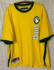 Boston Celtics Hardwood Classics D'Funkd 1914-15 Men's Yellow T-Shirt~X-Large XL