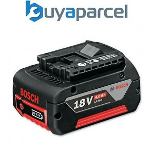 Bosch 18v 4.0Ah Battery Lithium Ion Li-ion Cordless 4ah Genuine UK Coolpack