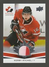 (55288) 2014-15 UPPER DECK TEAM CANADA JUNIORS KERBY RYCHEL JERSEY #167