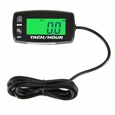 Searon Backlit Digital Resettable Inductive Tacho Hour Meter Tachometer For Mete