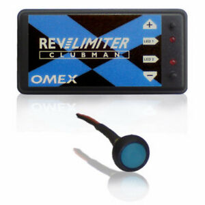 OMEX Performance Clubman Rev Limiter with Launch Control SINGLE COIL - OMRLCLC