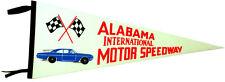 1960's Talladega Alabama Motor Speedway Pennant