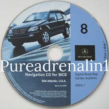 2001 2002 MERCEDES BENZ M ML ML320 ML430 ML500 NAVIGATION GPS CD DE VA NJ MD PA