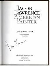 Jacob Lawrence, American Painter - Signed by Jacob Lawrence - First Edition