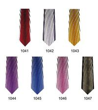 Men's Fashion Design Tie 2 Piece Set Tie and Handkerchief 7 Colors