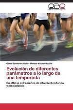 Evolución de diferentes parámetros a lo largo de una temporada: En atletas extre