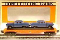 Lionel 6-16933 Lionel Lines Flatcar w/2 Automobiles LN/Box  C8   # 933