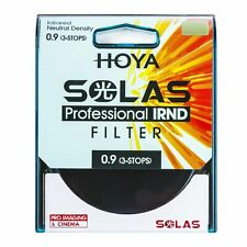 HOYA SOLAS ND-8 (0.9) 3 Stop IRND Neutral Density Filter