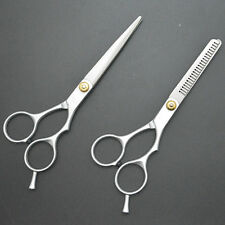 Hair Scissors Professional Cutting Thinning Shears Barber Set Hairdressing