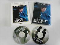 Minority Report Tom Cruise 2 X DVD Edizione Lusso + Extra Castellano Inglese