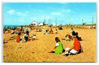 Vintage Picture Postcard St Osyth Essex The Beach