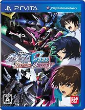 Used PS Vita Mobile Suit Gundam Seed Battle Destiny Japan Import (Free Shipping)