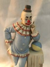 Flambro Clown Figurine Paul Jung Neat Makeup Limited Edition Numbered Circus