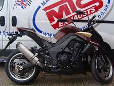 Kawasaki Z1000SX 2010-15 Titanium Tri Oval Carbon Outlet Road Legal MTC Exhausts