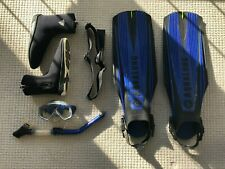 Aqualung Scuba Mask and Fins, Deep See 